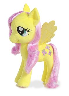 My Little Pony Fluttershy w/ Shimmery Hair FLUTTERSHY is a gentle beautiful yellow plush pony who can charm the tiniest creatures to the most powerful of mythical beasts. My Little Pony Dolls, All My Little Pony, My Little Pony Friendship, My Little Pony Collection, Nail Art For Kids, Baby Boy Gifts, Fluttershy, Plush Dolls, Pikachu