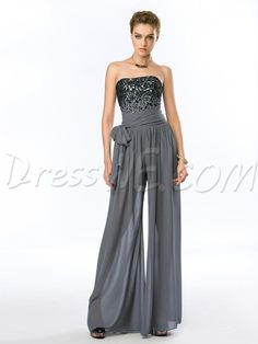 Fashion Sexy Strapless Sequins Zipper-Up Pant Evening 2015 Dresses 11232231 - Evening 2015 Dresseses 2015
