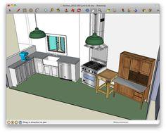 Online Tools For Planning A Space In 3D  Google Sketch Kitchen Delectable 20 20 Program Kitchen Design 2018