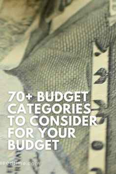 In order to have an effective budget, you're going to need some basic personal budget categories to start. Determining the budget category to use isn't always easy, especially if you've never made a budget before. Start your budget off right . . . here are some of the best budgeting categories to set you off on the right foot. #budget #budgetcategories #budetingtips #howtobudget #creatingabudget #seedtime
