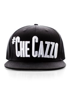 "NOW AVAILABLE!  The Parasuco #Checazzo snapback BBcap. Unisex hat. The ""it"" cap for this season. A must have! http://www.parasuco.com/shop/product/3CAZZO_001_NS/"