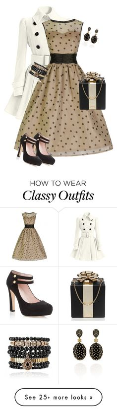 """Holiday Hottie"" by toots2271 on Polyvore featuring Samantha Wills, Kate Spade and Carla Amorim"