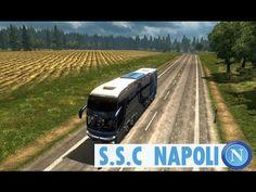 Euro Truck Simulator 2 - S.S.C Napoli Bus Marcopolo G7 1600 LD
