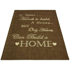 Buy County Home Script Rug - 120x170cm - Chocolate at Argos.co.uk - Your Online…