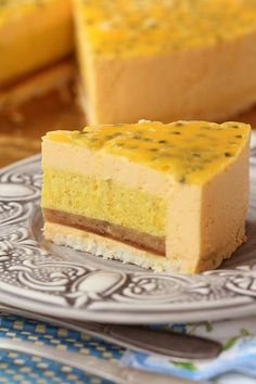Торт манго-маракуйя-лайм!!! - Think delicious...