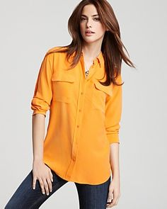 Equipment two pocket blouse