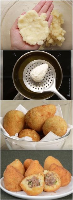 A Perfeição em forma de COXINHA DE MANDIOCA! UM VÍCIOOOOOO!!! (veja a receita passo a passo) #coxinha #mandioca #receita #gastronomia #culinaria #comida #delicia #receitafacil