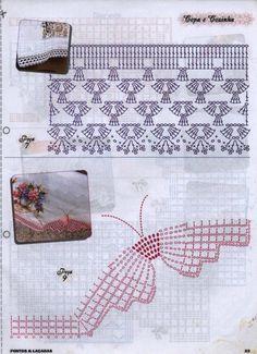crochet edging @Af's 28/3/13: crochet edging @Af's 28/3/13