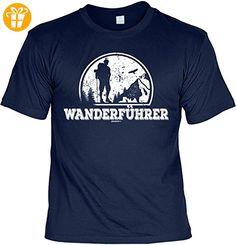 Wander T-Shirt Wanderführer Kletter Bergsteiger Shirt 4 Heroes Geburtstag Geschenk geil bedruckt (*Partner-Link)