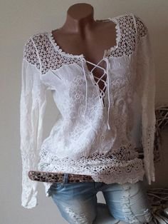 Latest fashion trends in women's Blouses. Shop online for fashionable ladies' Bl. - Latest fashion trends in women's Blouses. Shop online for fashionable ladies' Blouses at Floryd - Boho Fashion, Fashion Outfits, Womens Fashion, Cheap Fashion, Mode Outfits, Casual Outfits, Blouse Sexy, Diy Vetement, Blouses For Women