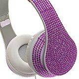 Crystal Case Foldable DJ Rhinestone Headphones w/ Microphone (Purple)by Crystal Case2735% Sales Rank in Musical Instruments: 231 (was 6550 yesterday)(81)Buy new: $19.99 (Visit the Movers & Shakers in Musical Instruments list for authoritative information on this product's current rank.)