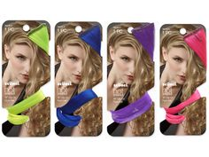 Add a pop of color to your hair this Halloween with fun clip-in hair extensions!