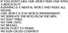 We Run Cross Country