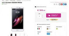 UNIVERSO NOKIA: Offerta Glistockisti LG X Screen189 euro