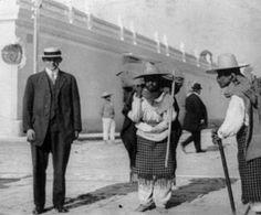 Una esquina en la ciudad de Guatemala entre 1910 y  1920