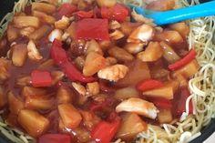 haehnchen_suess_sauer_rezept_einfach Food Porn, Mom Blogs, Kung Pao Chicken, Wok, Curry, Baking, Ethnic Recipes, Super, Kitchens