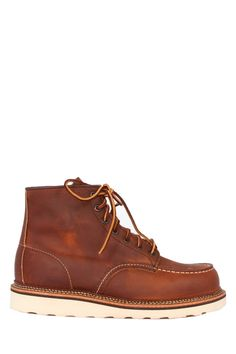 """Red Wing Shoes 6"""" Moc Work Boot in Copper Rough & Tough Leather"""
