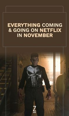 A calendar of everything coming and going on Netflix in November.