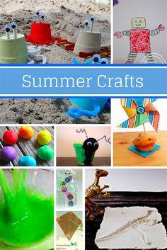 10 Summer Crafts for Kids