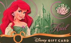 Disney Ariel gift card