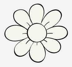 Outline Flower Stock Photos, Pictures, Royalty Free Outline Flower Images And Stock Photography Flower Pattern Drawing, Flower Outline, Flower Art, Flower Logo, Art Flowers, Easy Flower Drawings, Flower Sketches, Easy Drawings, Outline Images