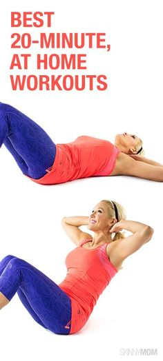 Get those abs with this at home workout!