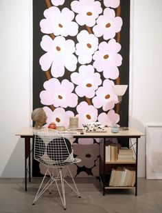 Sisustusinspiraatiota: Marimekko Home Marimekko, White Industrial, Painted Doors, Modern Fabric, Home Collections, Living Spaces, Tiles, House Design, Interior Design