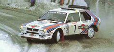 Henry Toivonen en el rallye de Montecarlo 1986
