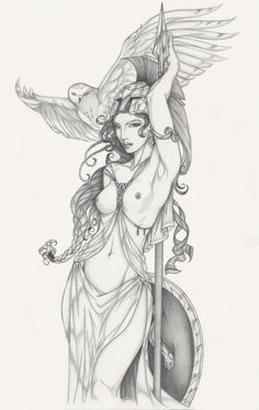 persephone goddess drawing - Google Search