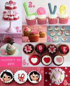 Yummy Vday cupcakes