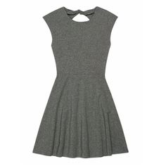 Grey Talula Open Back Dress