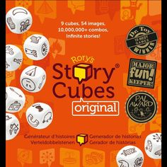 Příběhy z kostek - Rory's Story Cubes Spanish Classroom Activities, English Activities, Teaching Spanish, English Resources, English Lessons, Teaching English, Learn English, Teaching Kids, Story Cubes