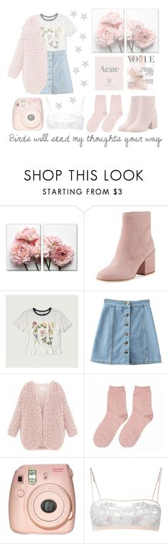 """""""Woodstock In My Mind"""" by xdarkparadise ❤ liked on Polyvore featuring Sam Edelman, Abercrombie & Fitch, WithChic, Prada, Fujifilm, La Perla and Anderson's Belts"""