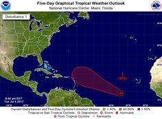 Centro de Huracanes pronostica formación de tormenta tropical afectaría el Caribe