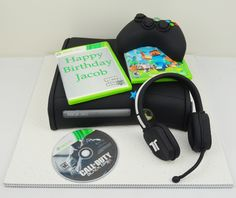 Xbox 360 And Controller Cake by gertygetsgangster on deviantART