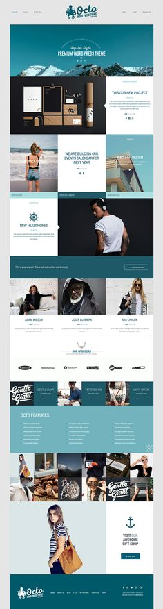 Octo - WordPress Theme