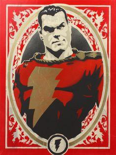 Everything Superheroes & Related - timetravelandrocketpoweredapes: Shazam by Original Captain Marvel, Captain Marvel Shazam, Comic Book Heroes, Comic Books Art, Comic Art, Dc Comics Art, Marvel Dc Comics, Marvel Art, Mary Marvel