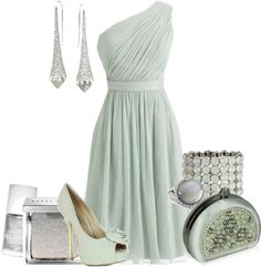 """""""icy mint"""" by meganpearl on Polyvore"""