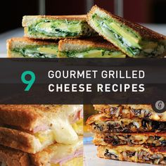 healthfitnesshumour:1. Grilled Cheese with Gouda, Roasted Mushrooms, and…