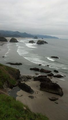 Hiked and drove the Oregon coast line route 101 through to CA.