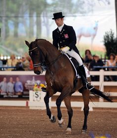 Steffen Peters winning at Dressage