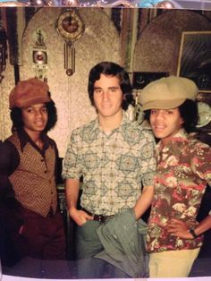 My dad and Michael Jackson in the 70s