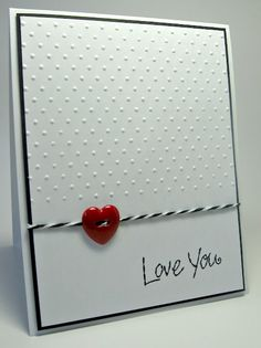 A simple card...and a great way of using the buttons I have hoarded....