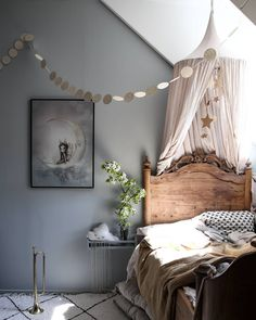 Girl room perfection by Pam Tower Is this a dream ? Girl room perfection by Pam Tower Is this a dream ? Girl room perfection by Pam Tower Gray Bedroom, Kids Bedroom, Bedroom Decor, Bedroom Ideas, Room Kids, Bedroom Bed, Nursery Room, Girl Nursery, Deco Kids