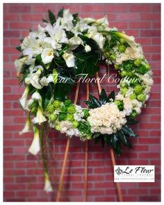 Send Imperial Sympathy Wreath in Santa Fe Springs, CA from Le Fleur Floral Couture, the best florist in Santa Fe Springs. All flowers are hand delivered and same day delivery may be available.