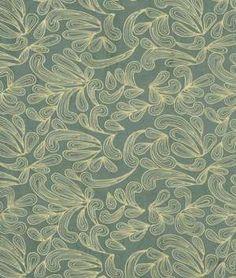 Robert Allen Whisper Swirl Mediterranean Fabric