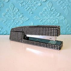 Add sparkle and shine to desk supplies with bling on a roll.