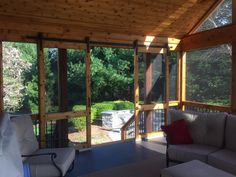 Cedar Screened Porch