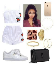 """""""~Heartless~"""" by thatgirlnele ❤ liked on Polyvore featuring Puma, Dyrberg/Kern, Cartier, Yves Saint Laurent and Michael Kors"""