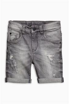 Denim Five Pocket Shorts (3-16yrs) (443949) | £12 - £17